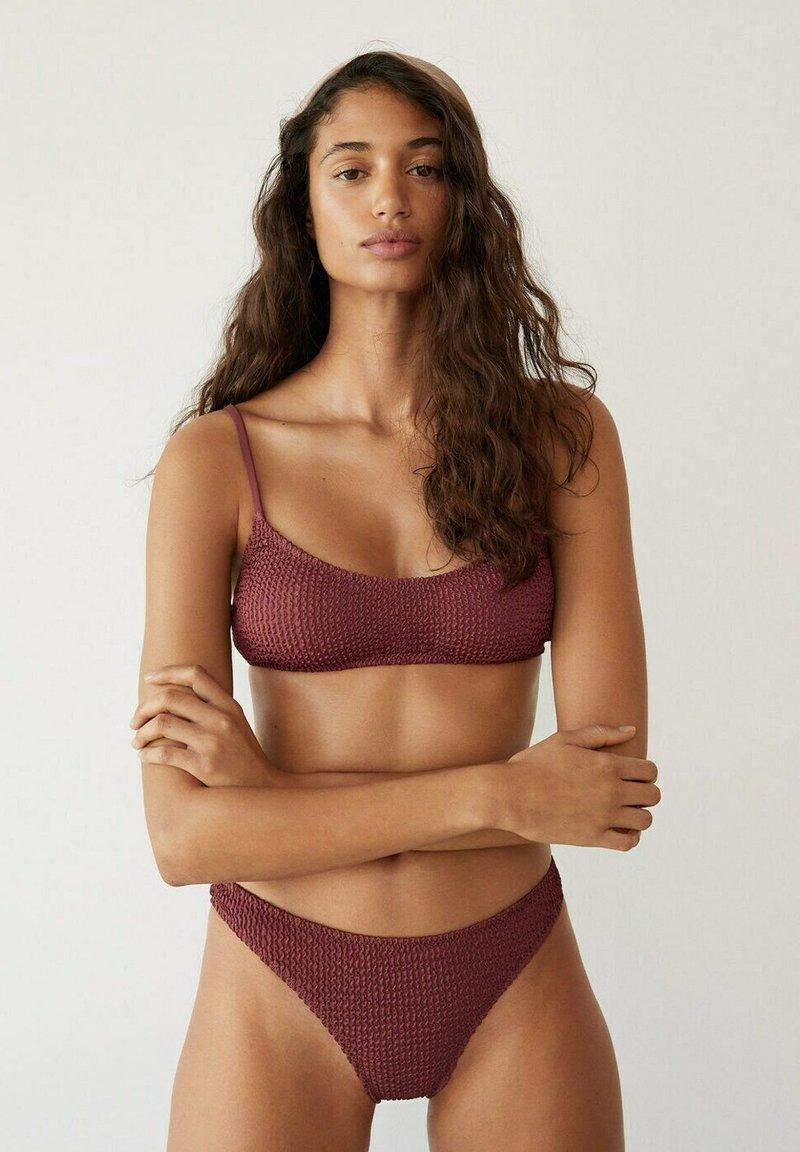 Mango - SOLENE - Bikinitop - brown