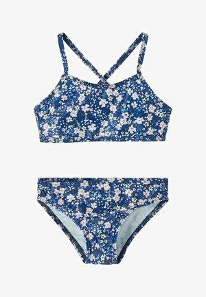 NMFFELISIA SET - Bikini - blue depths