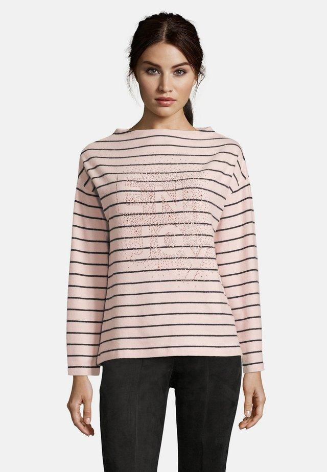 Sweatshirt - pink/dark blue