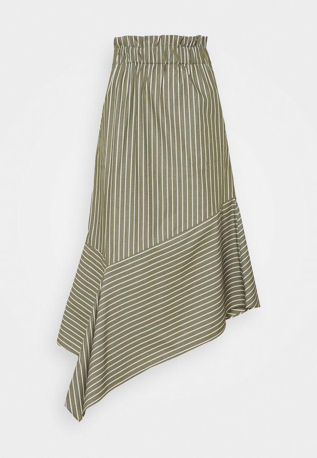 RARAY - Maxi skirt - sage green