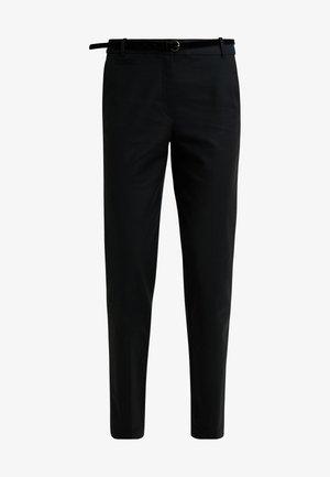 MR WEEKEND - Trousers - black