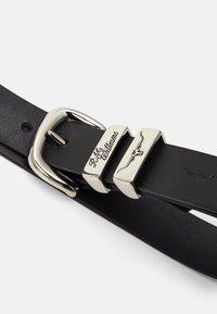 R. M. WILLIAMS - SOLID HIDE BELT - Belt - black - 2