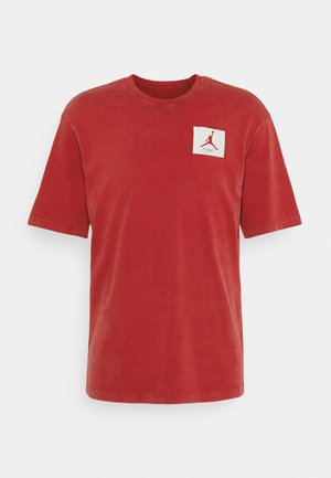 JORDAN CREW - T-shirt con stampa - gym red