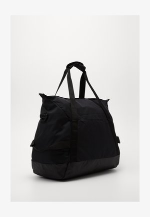 TEAM DUFF - Sports bag - black/black/white