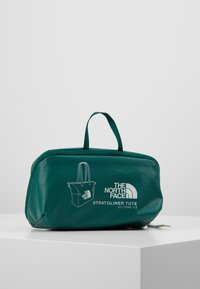 The North Face - STRATOLINE TOTE - Sports bag - night green/tin grey - 5