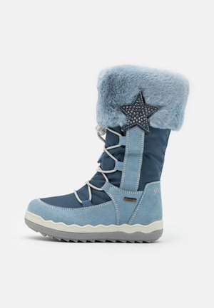 Winter boots - cielo/jeans