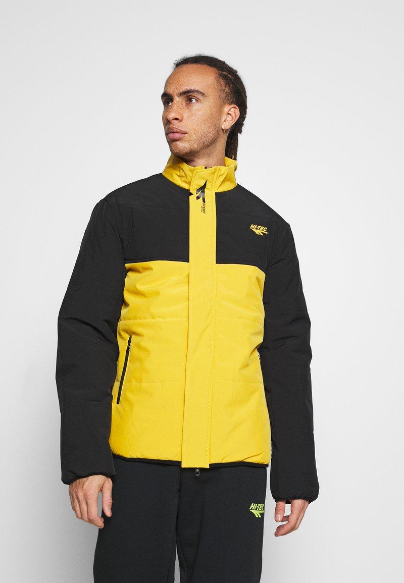 Hi-Tec - BRENDON PADDED COAT - Winter jacket - golden glow