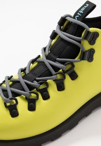 Native - FITZSIMMONS CITYLITE - Lace-up ankle boots - safety yellow/ jiffy black - 6