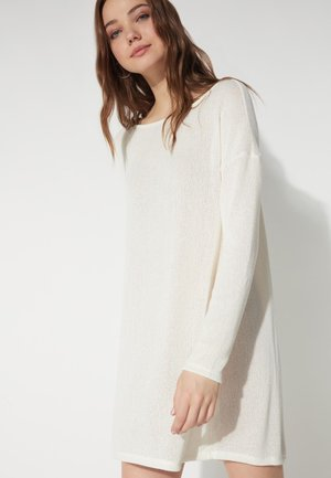 Jumper dress - latte