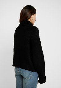 Missguided Petite - BATWING - Pullover - black - 2