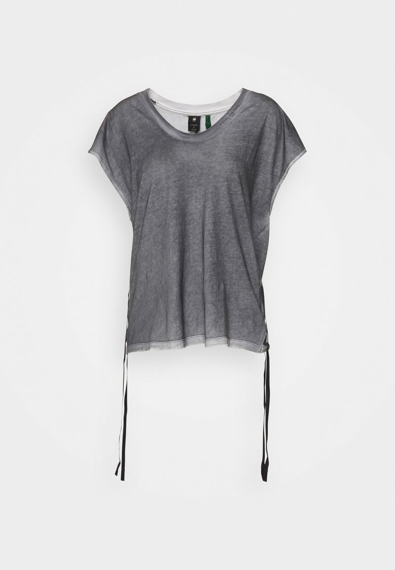 G-Star - ADJUSTABLE TOP SPRAYED - Print T-shirt - black spray outside