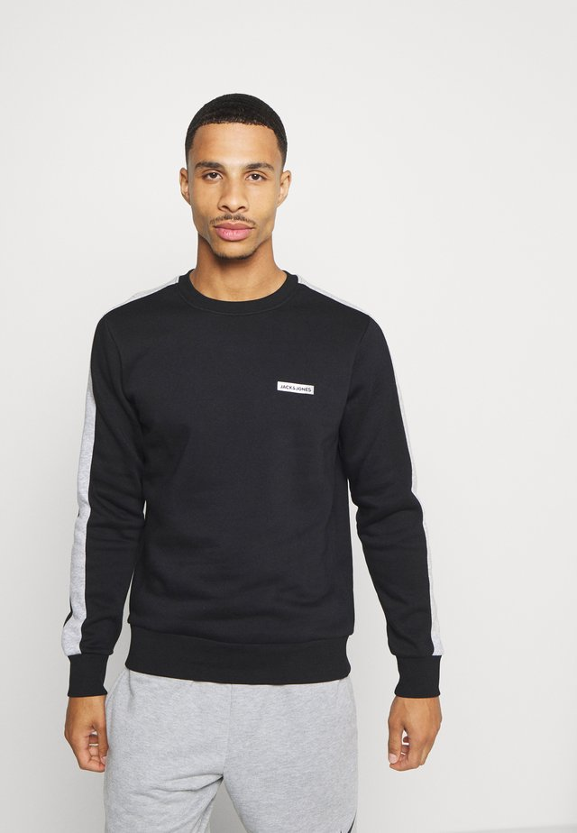 JCOZ SPORT CREW NECK - Collegepaita - black