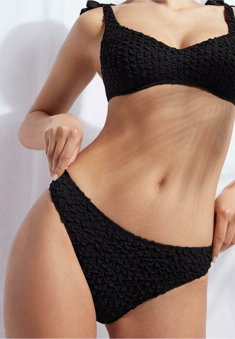 Calzedonia - MARRAKECH - Bikini bottoms - nero