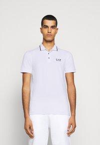 EA7 Emporio Armani - Polo shirt - white - 0