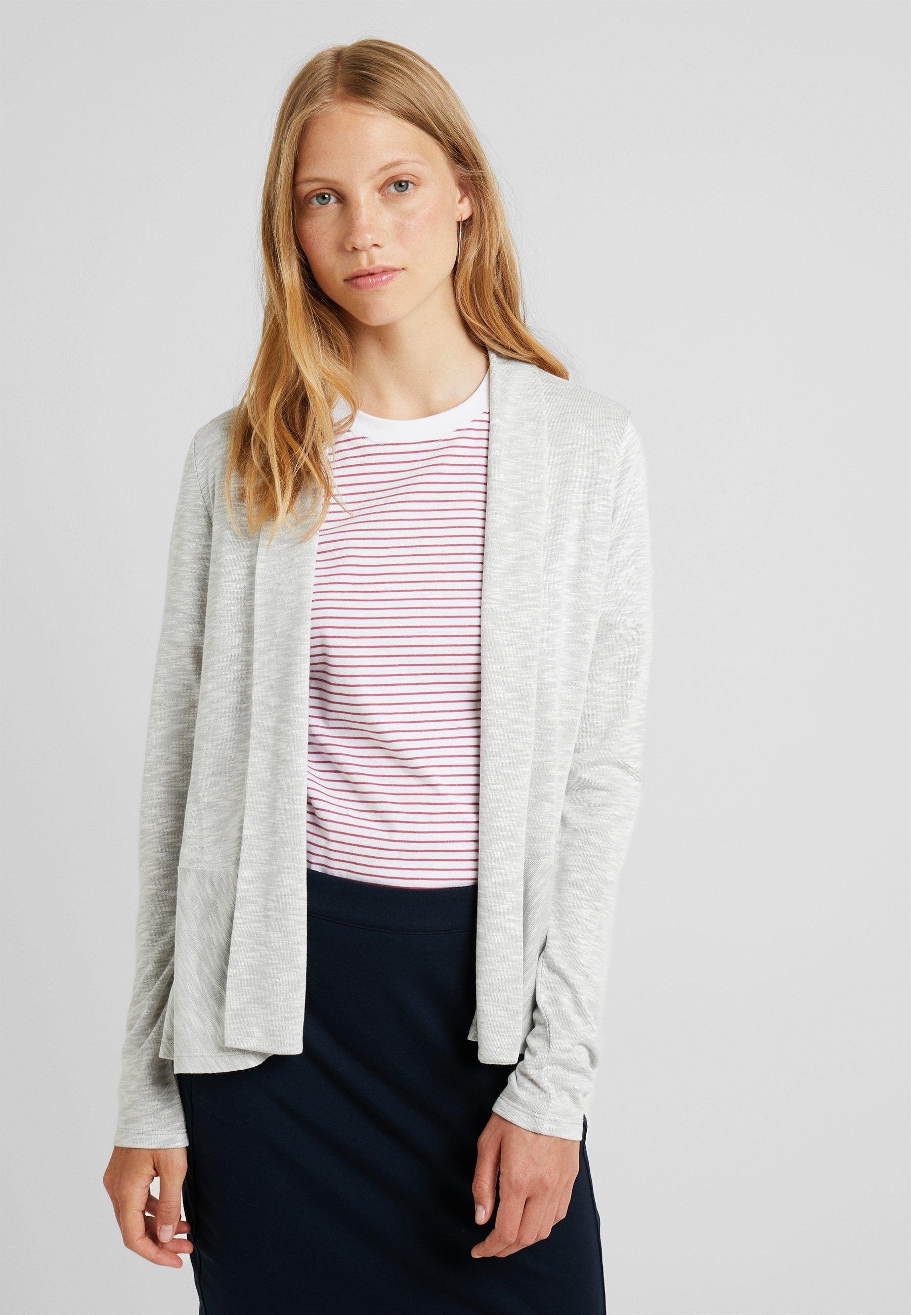 Esprit CARDI - Vest - light grey - Dames jas Ontwerper
