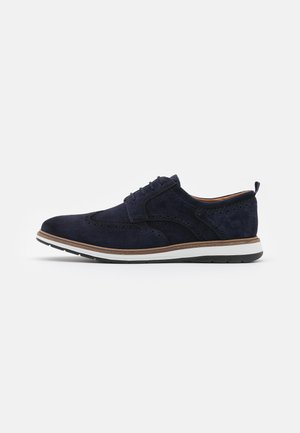 CHANTRY WING - Casual lace-ups - navy