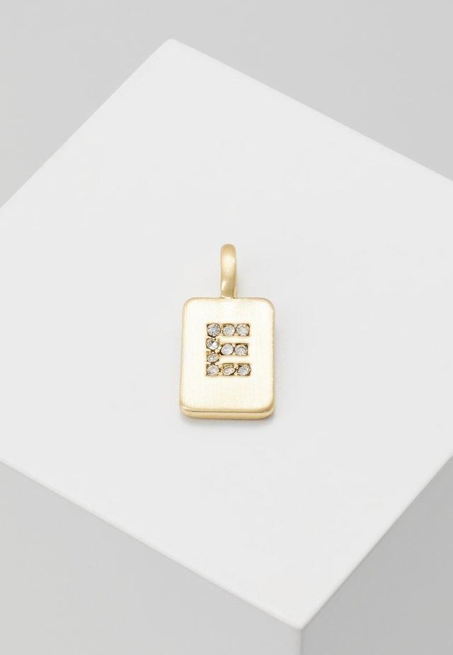 PENDANT LETTER - Riipus - gold-coloured