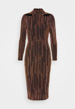 Cocktail dress / Party dress - copper