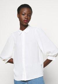 Vero Moda Tall - VMDORTHE - Button-down blouse - snow white - 3