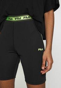 Fila - ULAN - Shorts - black - 4