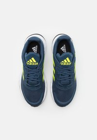 adidas Performance - DURAMO  - Sports shoes - crew navy/solar yellow/halo silver - 3