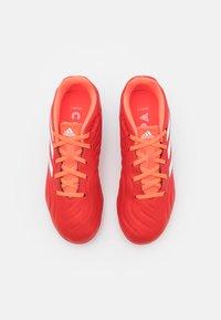 adidas Performance - COPA SENSE.3 FG UNISEX - Kopačky lisovky - red/footwear white/solar red - 3