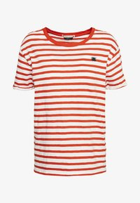 Scotch & Soda - EASY STRIPE TEE WITH CHEST EMBROIDERY - Triko s potiskem - combo - 3