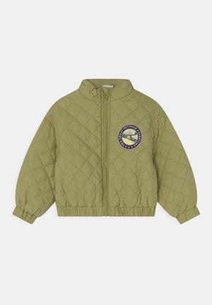 MINI QUILT - Winter jacket - dark ivy