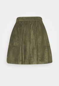 Vila - VICHOOSE  - A-line skirt - forest night - 3