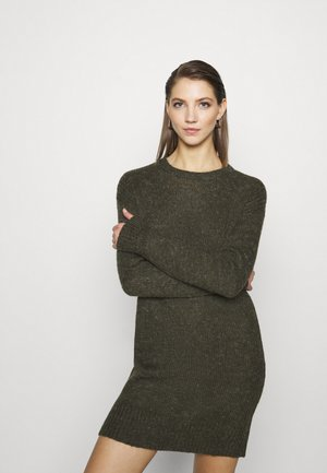 JDYCORDELIS DRESS  - Jumper dress - forest night/melange