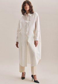 Seidensticker - Shirt dress - ecru - 4