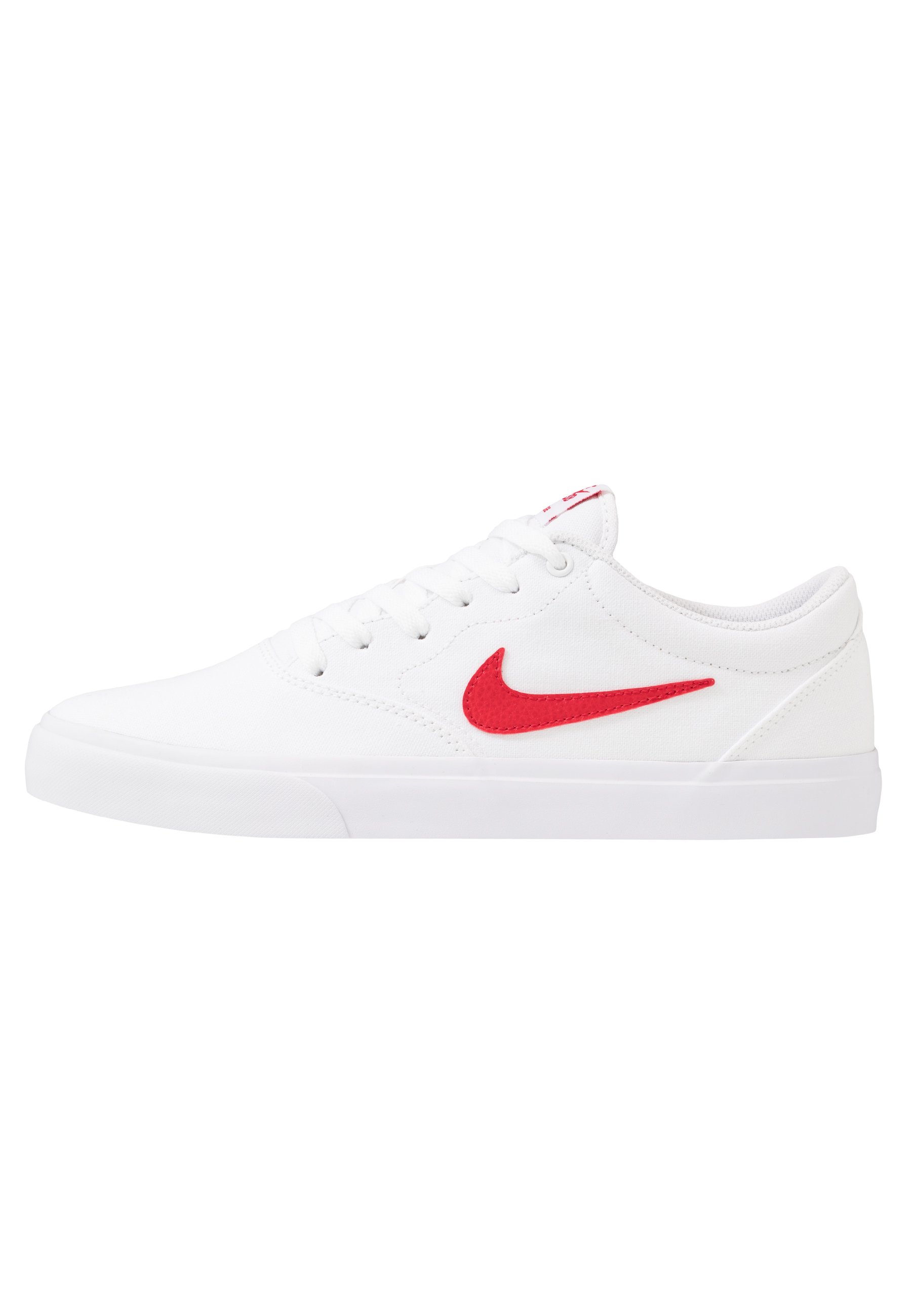 CHARGE - Sneakers laag - white/university red