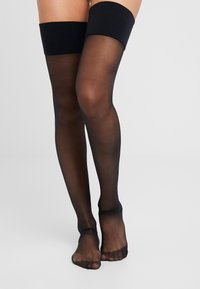 Playful Promises - SEAMED STOCKING - Over-the-knee socks - black - 1