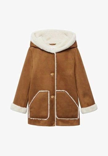 MIT - Winter coat - tobacco /braun