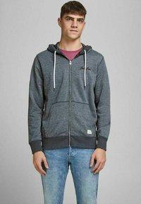 Jack & Jones - Sweater met rits - navy blazer - 0
