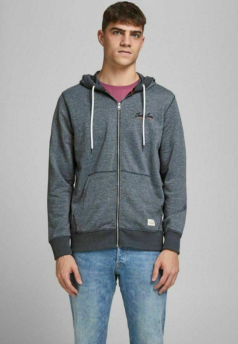 Jack & Jones - Sweater met rits - navy blazer