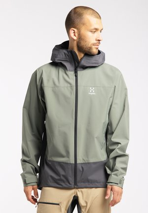 HARDSHELLJACKE SPATE - Outdoor jacket - magnetite/lite beluga