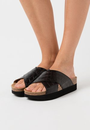 Tøfler - black