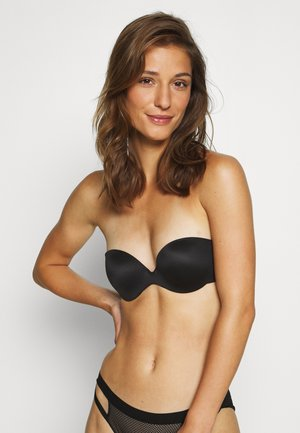 CUSTOM LIFT STRAPLESS BRA - Stroppeløs-BH - black
