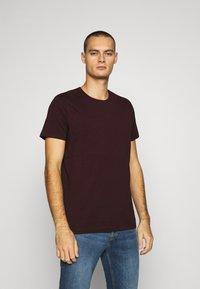 Burton Menswear London - SHORT SLEEVE CREW 10 PACK - T-shirt basic - charcole/navy - 4