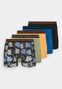 MUCHACHOMALO - BANANA 5 PACK - Boxerky - black/khaki/blue - 5