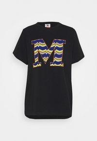 M Missoni - SHORT SLEEVE - Print T-shirt - black beauty - 4