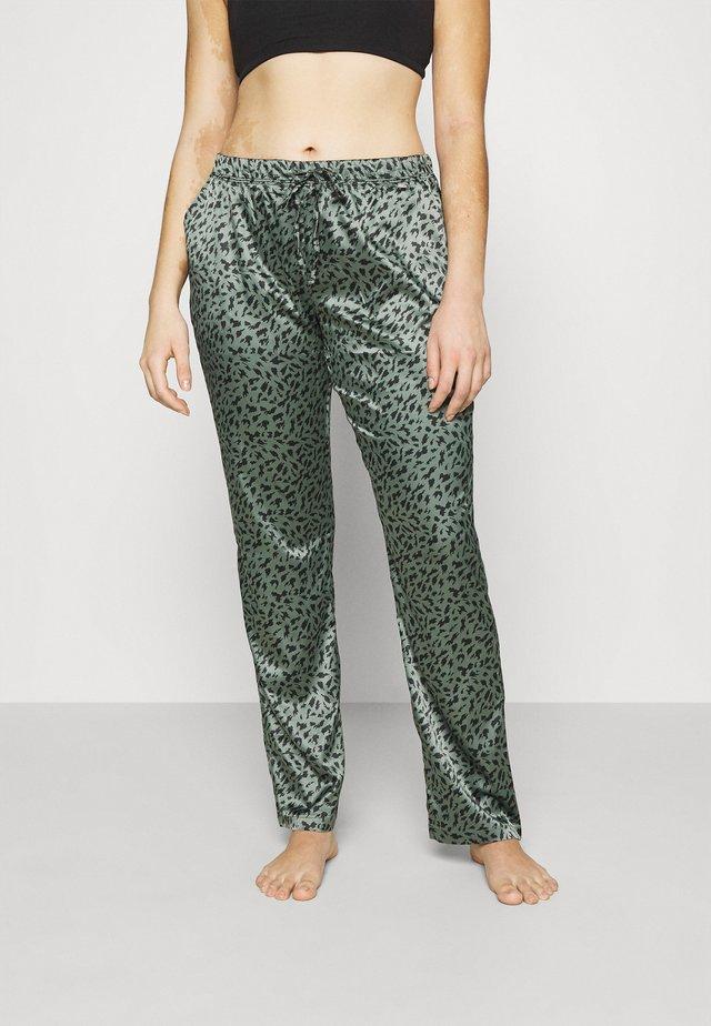 Spodnie od piżamy - khaki