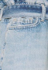 AllSaints - HANNAH PAPERBAG - Denim shorts - mid indigo - 2
