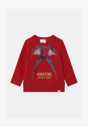 TODDLER BOY SPIDERMAN  CREW - Sweatshirt - modern red