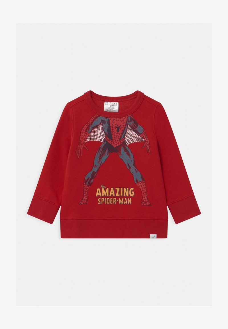 GAP - TODDLER BOY SPIDERMAN  CREW - Sweater - modern red