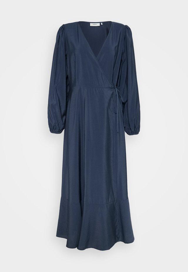 MALLU - Vestito lungo - colony blue