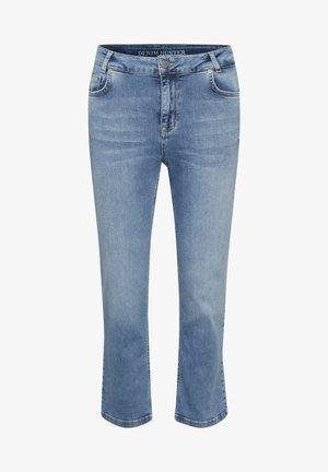 Straight leg -farkut - light blue wash