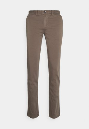 BLEECKER FLEX - Trousers - stone