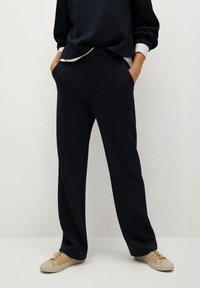 Mango - TAMMY - Trousers - námořnická modrá - 0